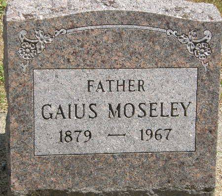 MOSELEY, GAIUS - Black Hawk County, Iowa | GAIUS MOSELEY