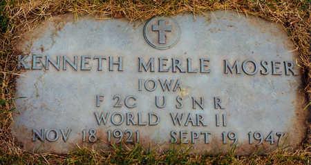 MOSER, KENNETH MERLE - Black Hawk County, Iowa | KENNETH MERLE MOSER