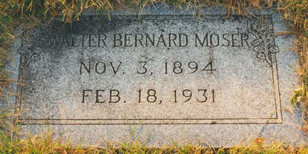 MOSER, WALTER BERNARD - Black Hawk County, Iowa | WALTER BERNARD MOSER