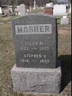 MOSHER, ELLEN M. - Black Hawk County, Iowa   ELLEN M. MOSHER