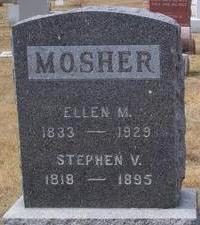 MOSHER, STEPHEN  V. - Black Hawk County, Iowa   STEPHEN  V. MOSHER
