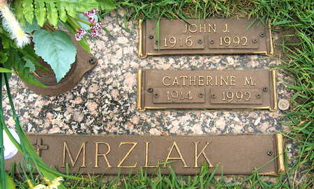 MRZLAK, CATHERINE M. - Black Hawk County, Iowa | CATHERINE M. MRZLAK