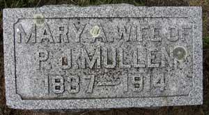 MULLEN, MARY A. - Black Hawk County, Iowa   MARY A. MULLEN