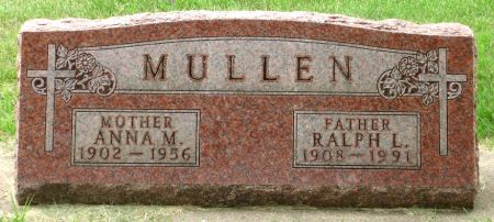 MULLEN, ANNA M. - Black Hawk County, Iowa   ANNA M. MULLEN