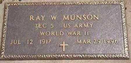 MUNSON, RAY - Black Hawk County, Iowa | RAY MUNSON