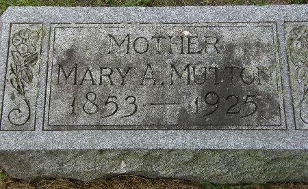 MUTTON, MARY A. - Black Hawk County, Iowa   MARY A. MUTTON