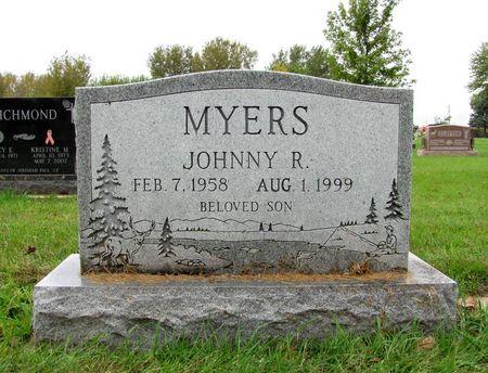 MYERS, JOHNNY R. - Black Hawk County, Iowa | JOHNNY R. MYERS