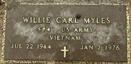 MYLES, WILLIE CARL - Black Hawk County, Iowa | WILLIE CARL MYLES