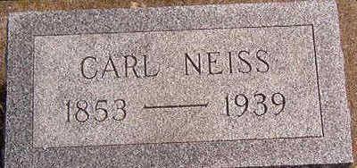NEISS, CARL - Black Hawk County, Iowa | CARL NEISS