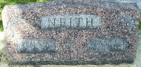 NEITH, FRANK A. - Black Hawk County, Iowa | FRANK A. NEITH