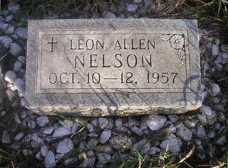 NELSON, LEON ALLEN - Black Hawk County, Iowa | LEON ALLEN NELSON