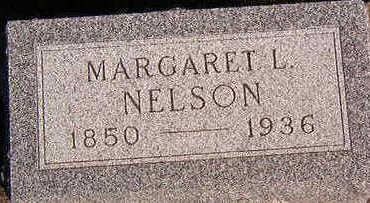 NELSON, MARGARET L. - Black Hawk County, Iowa | MARGARET L. NELSON