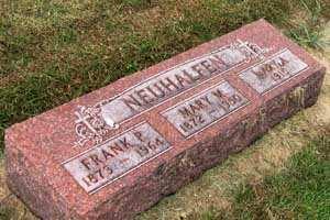 NEUHALFEN, MARY M. - Black Hawk County, Iowa | MARY M. NEUHALFEN