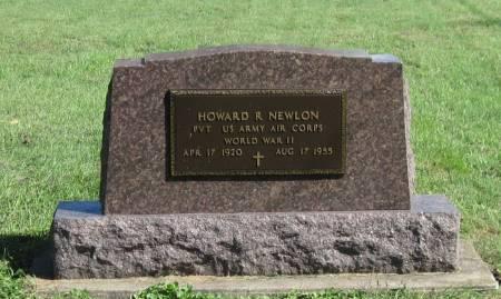 NEWLON, HOWARD R - Black Hawk County, Iowa   HOWARD R NEWLON