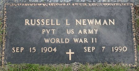 NEWMAN, RUSSELL L. - Black Hawk County, Iowa | RUSSELL L. NEWMAN
