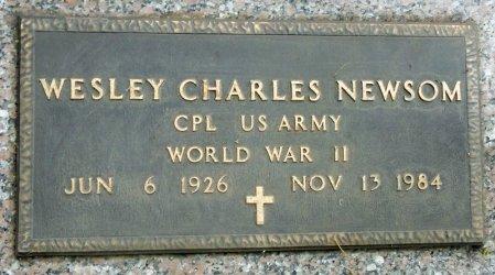 NEWSOM, WESLEY CHARLES - Black Hawk County, Iowa   WESLEY CHARLES NEWSOM