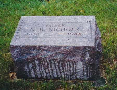 NICHOLS, NELSON BYRON - Black Hawk County, Iowa | NELSON BYRON NICHOLS