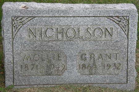 NICHOLSON, GRANT - Black Hawk County, Iowa | GRANT NICHOLSON