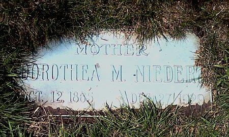 NIEDERT, DOROTHEA M. - Black Hawk County, Iowa | DOROTHEA M. NIEDERT