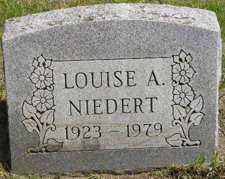 NIEDERT, LOUISE A. - Black Hawk County, Iowa | LOUISE A. NIEDERT