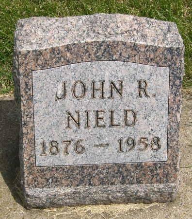 NIELD, JOHN R. - Black Hawk County, Iowa | JOHN R. NIELD