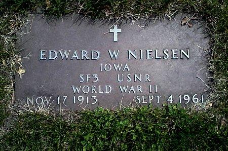 NIELSEN, EDWARD W. - Black Hawk County, Iowa | EDWARD W. NIELSEN