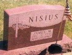 NISIUS, JAMES - Black Hawk County, Iowa | JAMES NISIUS