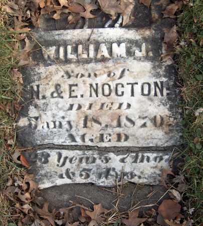 NOCTON, WILLIAM J. - Black Hawk County, Iowa   WILLIAM J. NOCTON