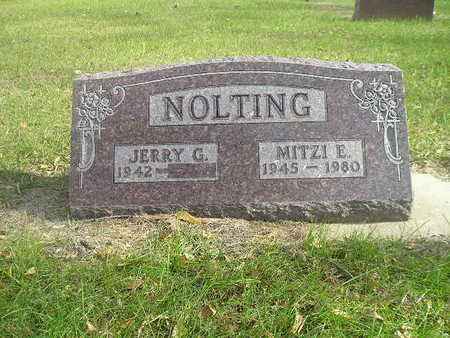 NOLTING, JERRY G - Black Hawk County, Iowa | JERRY G NOLTING