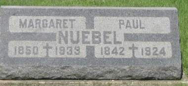 NUEBEL, PAUL - Black Hawk County, Iowa | PAUL NUEBEL