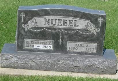 NUEBEL, ELIZABETH K. - Black Hawk County, Iowa | ELIZABETH K. NUEBEL