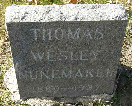 NUNEMAKER, THOMAS WESLEY - Black Hawk County, Iowa | THOMAS WESLEY NUNEMAKER