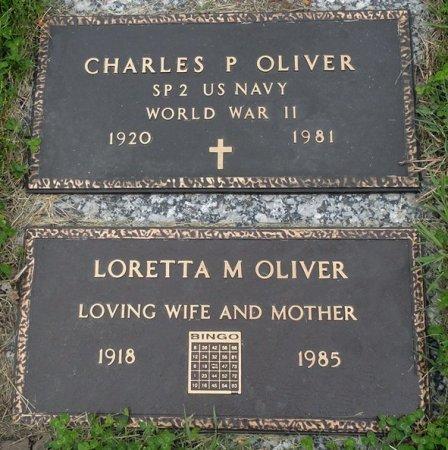 OLIVER, LORETTA M. - Black Hawk County, Iowa   LORETTA M. OLIVER