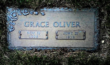 OLIVER, GRACE - Black Hawk County, Iowa | GRACE OLIVER