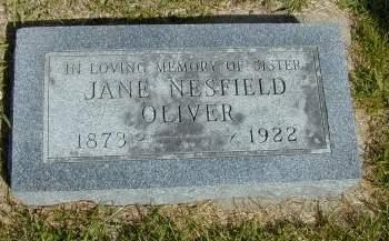 OLIVER, JANE - Black Hawk County, Iowa | JANE OLIVER