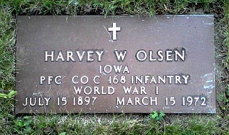 OLSEN, HARVEY W. - Black Hawk County, Iowa | HARVEY W. OLSEN