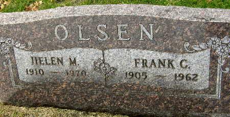 OLSEN, FRANK C. - Black Hawk County, Iowa | FRANK C. OLSEN