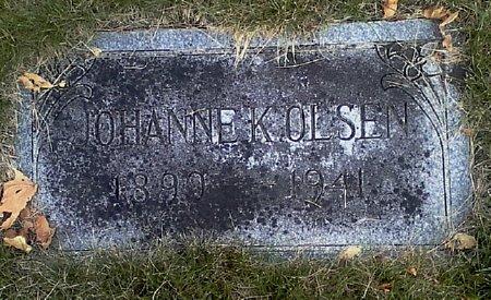 OLSEN, JOHANNE K. - Black Hawk County, Iowa | JOHANNE K. OLSEN
