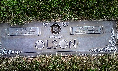OLSON, ALICE C. - Black Hawk County, Iowa | ALICE C. OLSON