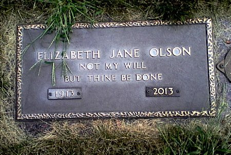 OLSON, ELIZABETH JANE - Black Hawk County, Iowa | ELIZABETH JANE OLSON
