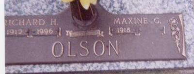 OLSON, MAXINE - Black Hawk County, Iowa | MAXINE OLSON