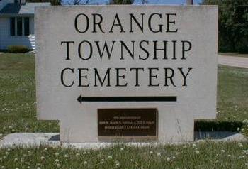 ORANGE TOWNSHIP, CEMETERY - Black Hawk County, Iowa | CEMETERY ORANGE TOWNSHIP