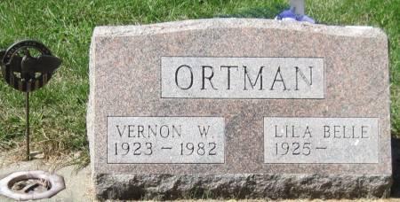 ORTMAN, VERNON W. - Black Hawk County, Iowa | VERNON W. ORTMAN