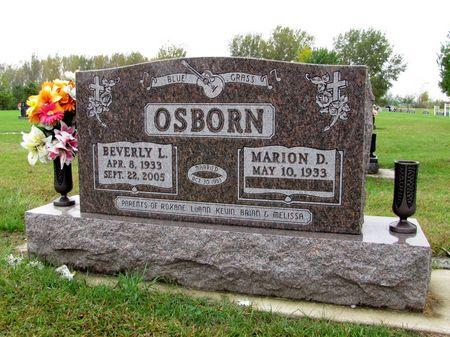 OSBORN, BEVERLY L. - Black Hawk County, Iowa   BEVERLY L. OSBORN