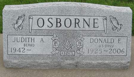 OSBORNE, DONALD E. - Black Hawk County, Iowa | DONALD E. OSBORNE