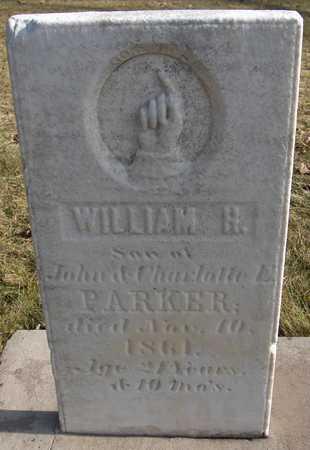PARKER, WILLIAM H. - Black Hawk County, Iowa | WILLIAM H. PARKER