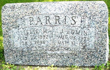PARRIS, LILLIE M. - Black Hawk County, Iowa | LILLIE M. PARRIS