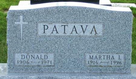 WILSON PATAVA, MARTHA I. - Black Hawk County, Iowa | MARTHA I. WILSON PATAVA