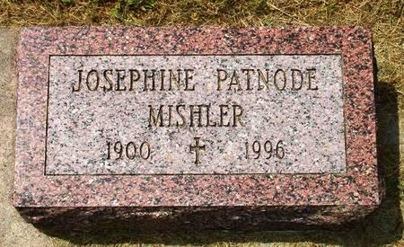 COUGHLIN PATNODE MISHLER, JOSEPHINE - Black Hawk County, Iowa | JOSEPHINE COUGHLIN PATNODE MISHLER