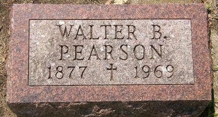 PEARSON, WALTER B. - Black Hawk County, Iowa | WALTER B. PEARSON